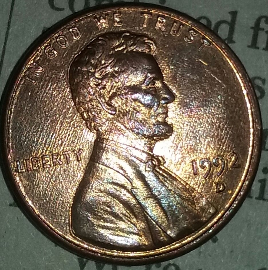 1992 D Penny Wide Am - Coin Community Forum