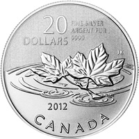 2012 CANADA $20 .9999 PURE SILVER FAREWELL TO THE PENNY  COIN  /& CARD MINT