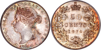 Victoria Fifty Cent / Half Dollar