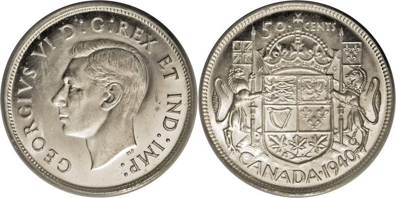 Grading George VI Fifty Cent