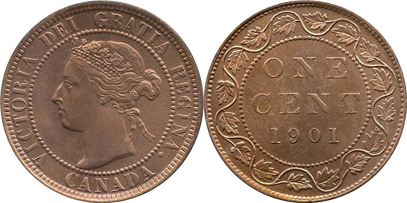 Grading Victoria Large Cent