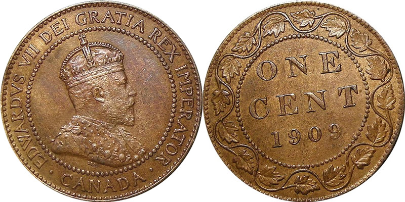 Edward VII Large Cent