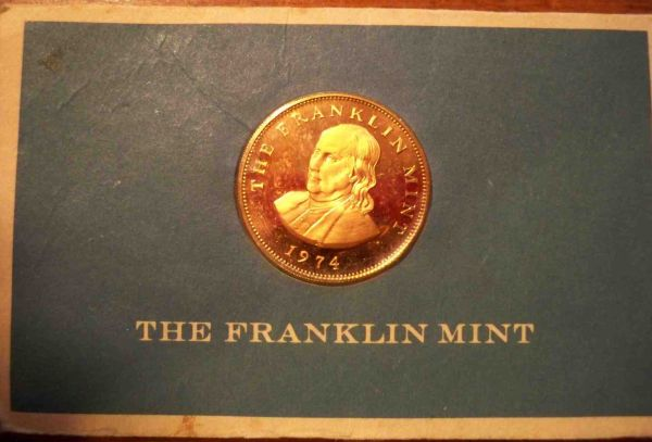 Franklin mint business card coin origin coin community forum i know virtually nothing about the franklin mint numismatic newbie but this coinbusiness card was passed on to me by a family friend dated 1974 colourmoves