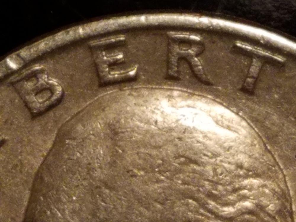 1977 D Washington Quarter possible Doubled Die Obverse / DDO - Coin