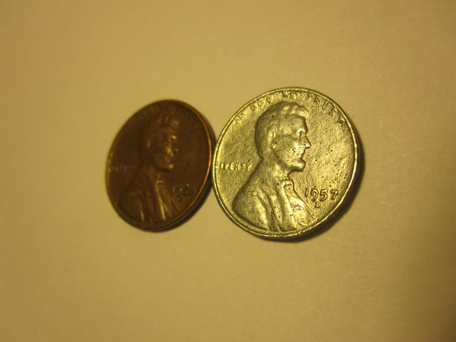 Silver 1957 D Lincoln penny - Coin Community Forum