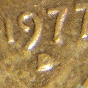1977 D Lincoln Penny Mint Mark ERROR ? Please  - Coin Community Forum