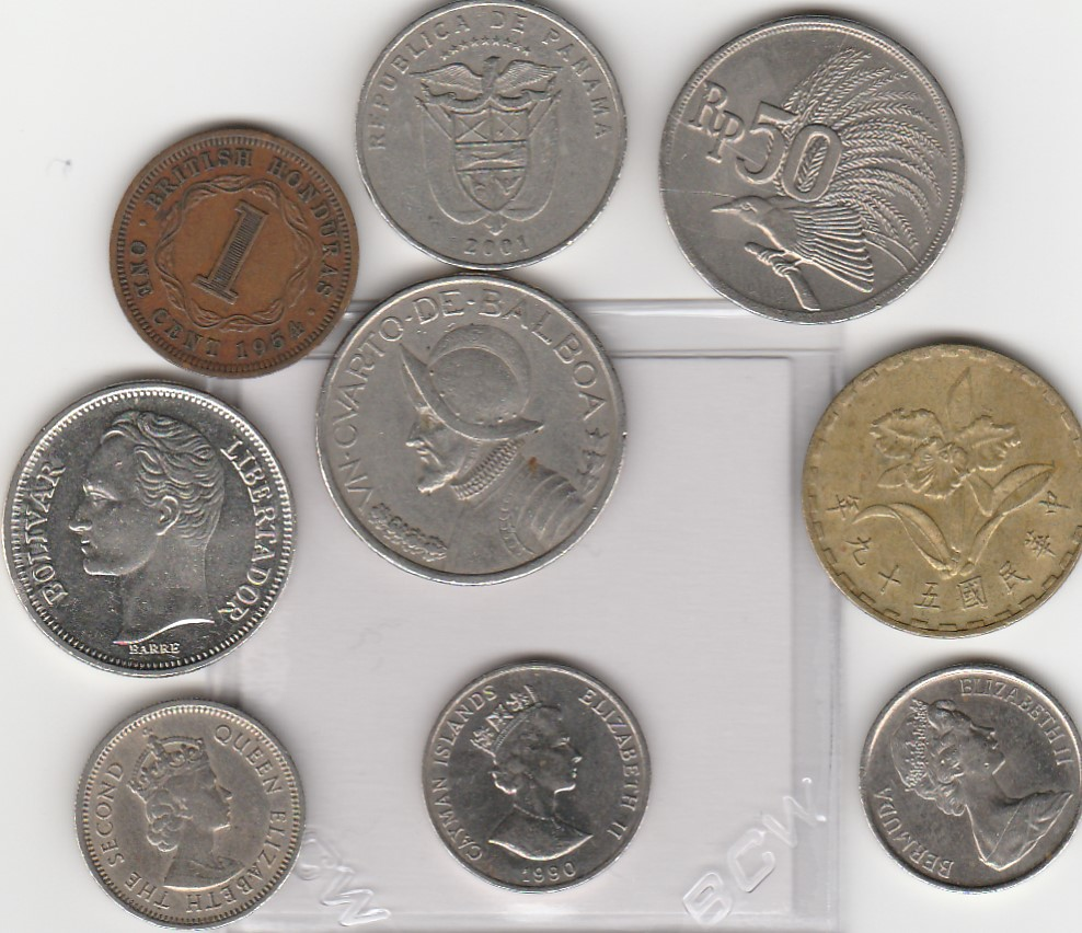 many coins from all - photo #5