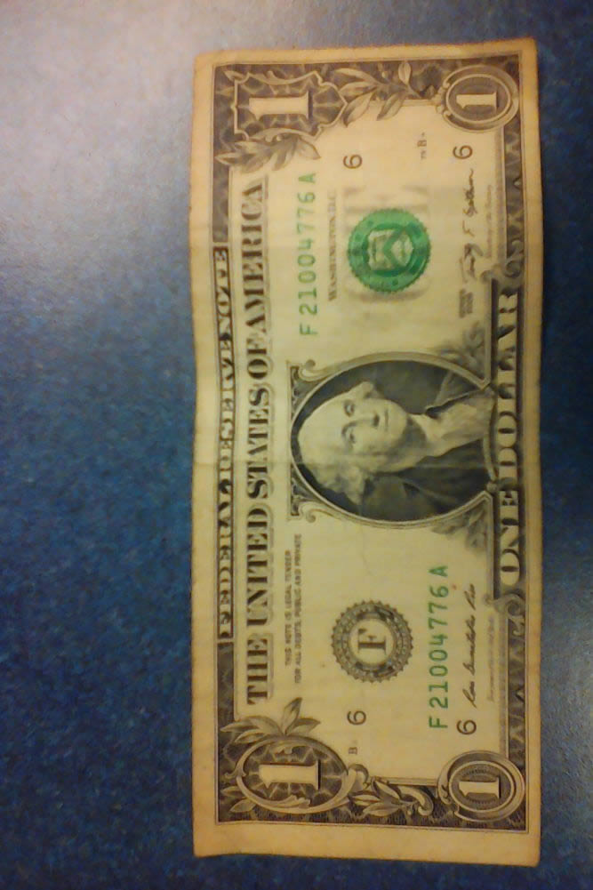 2009 us one dollar bill misaligned