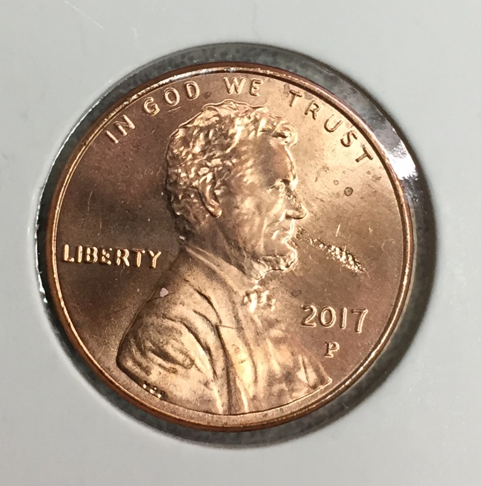 2017-P Lincoln Cent - Fire Breathing Abe - Coin Community Forum