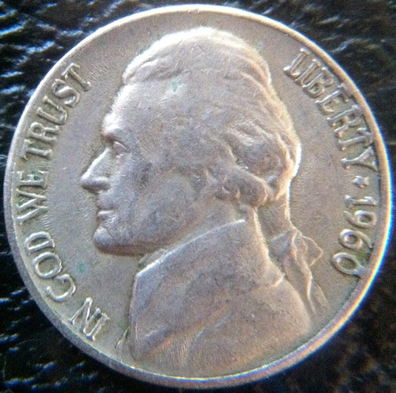 1960 Quot Bar Zero Quot Nickel With Quot Bar Ert Quot Coin Community Forum