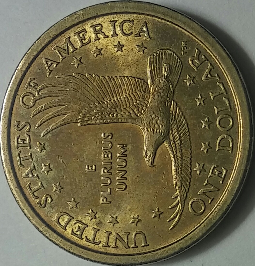 2000 P Sacagawea One Dollar Cheerios Grade Value
