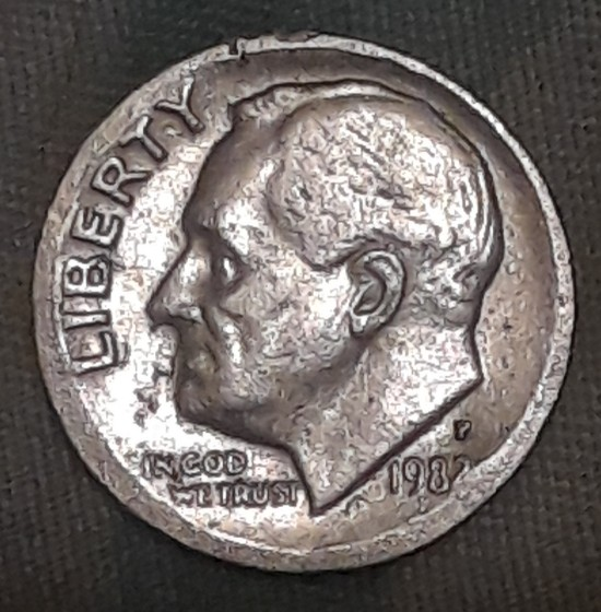 Need input on a 1982 P Roosevelt Dime - Coin Community Forum