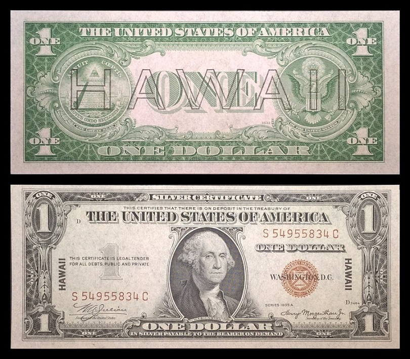 Hawaii N Africa 1 Silver Certificates Coin Community Forum