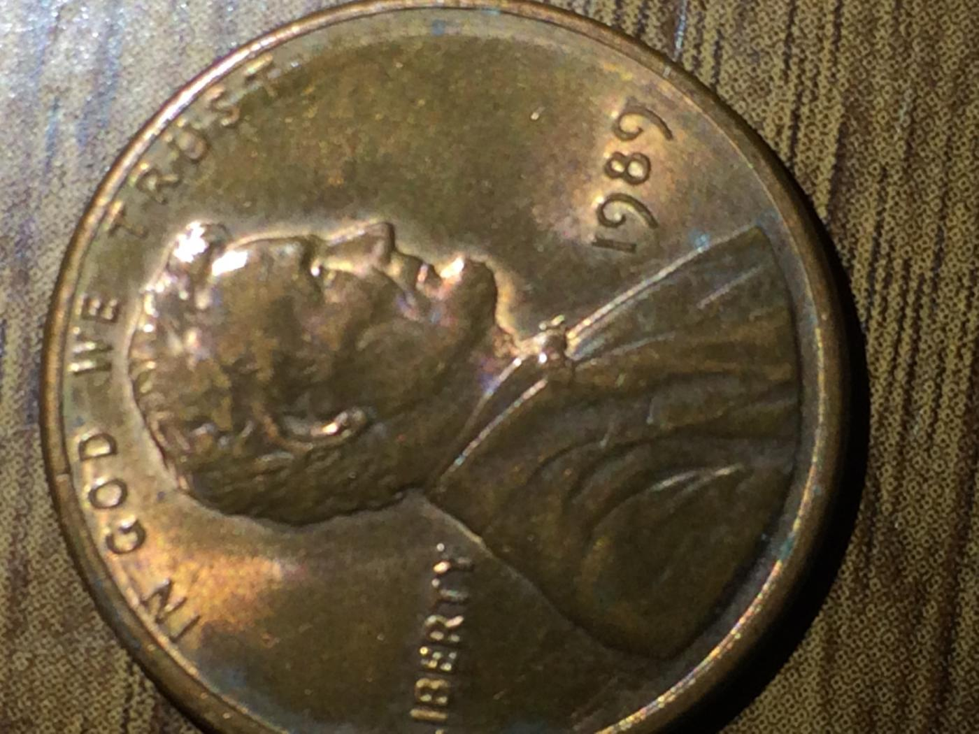 1989 Penny Error Coin – Wonderful Image Gallery