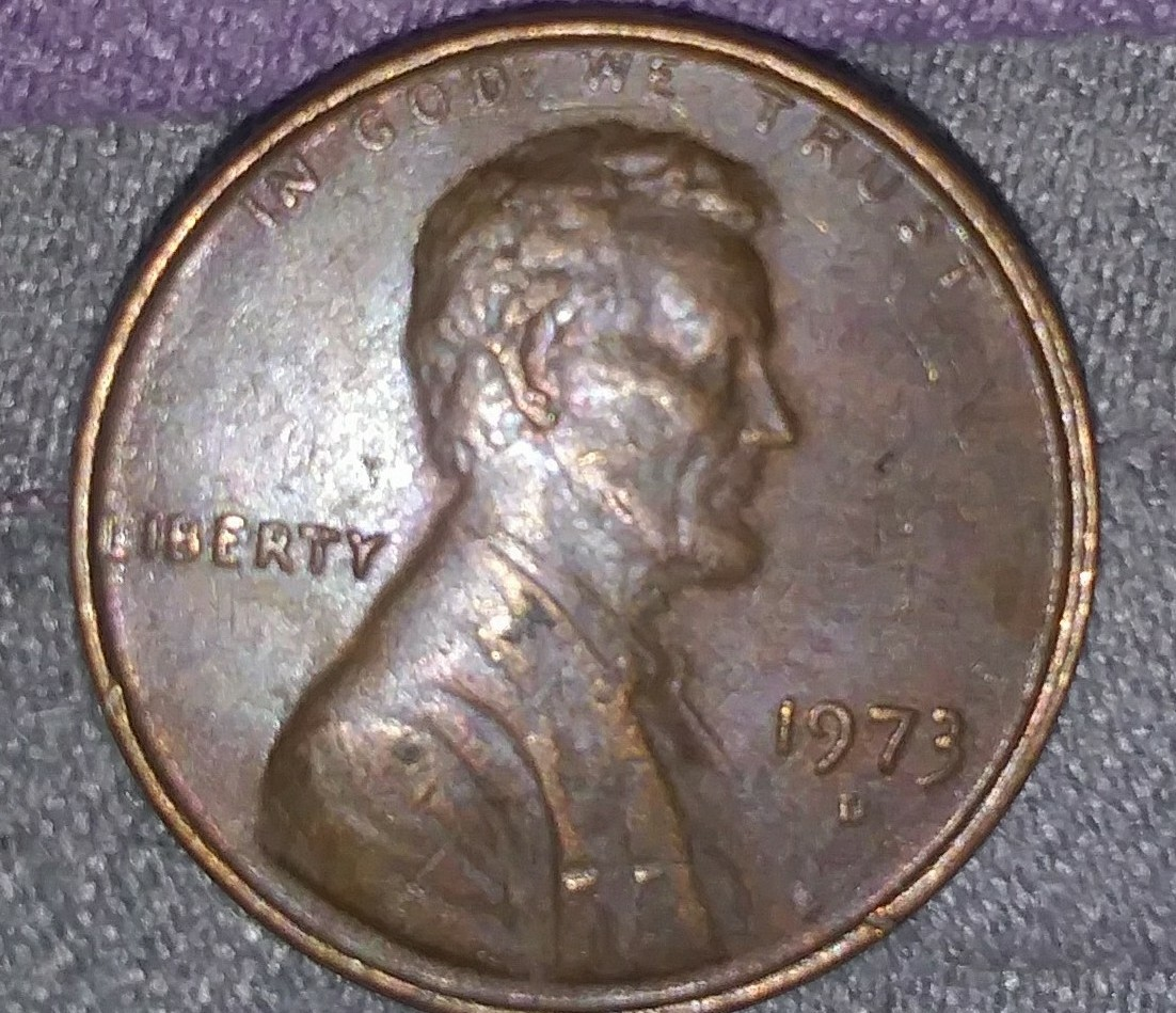 Coin collecting 1973 d penny