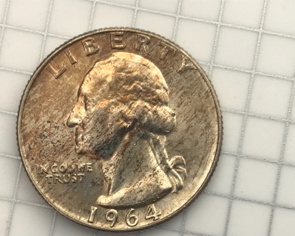 1964-D Toned Washington Quarter for grading - Coin Community Forum