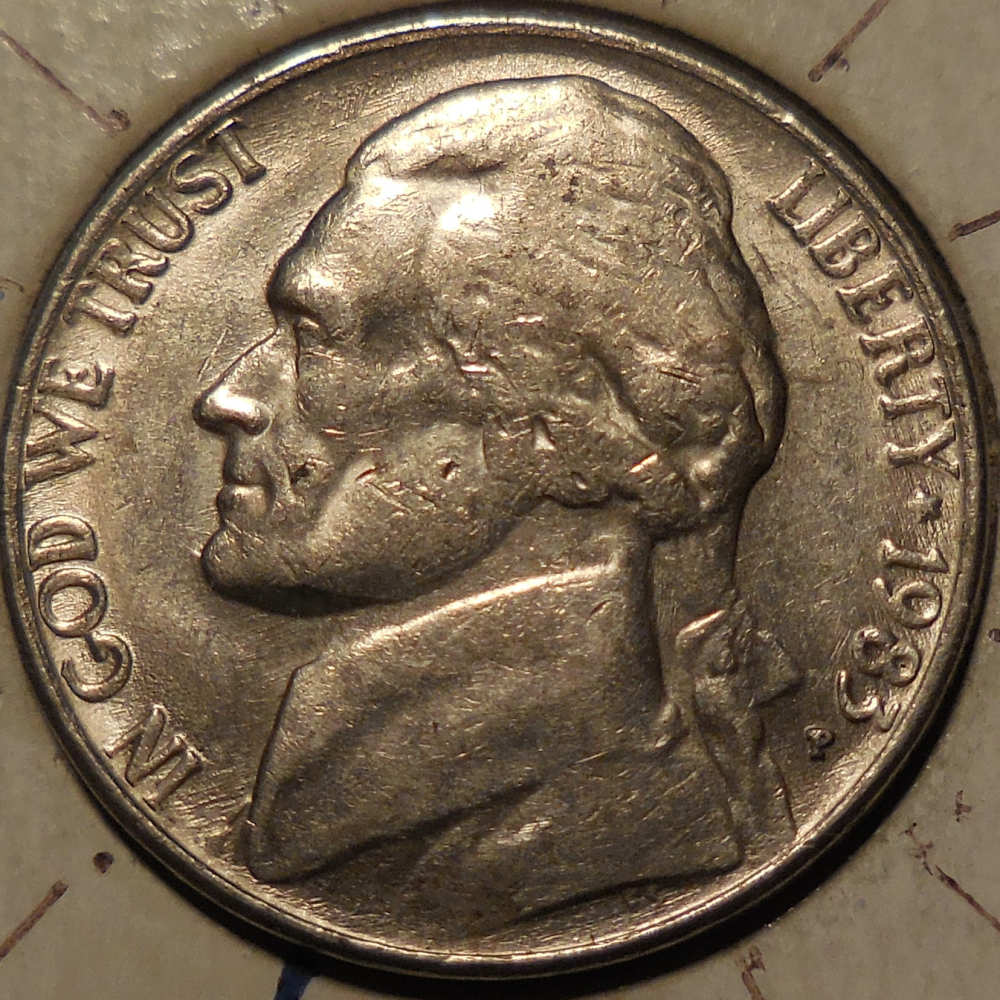 Vintage Coin USA One Cent 1983 CodeJMC1514 by t