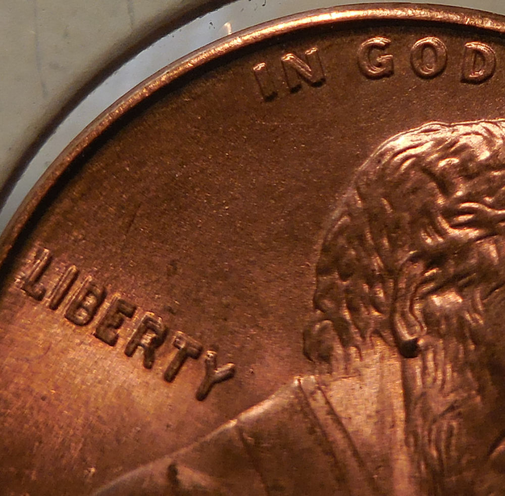 1989 D Penny Double Die – name