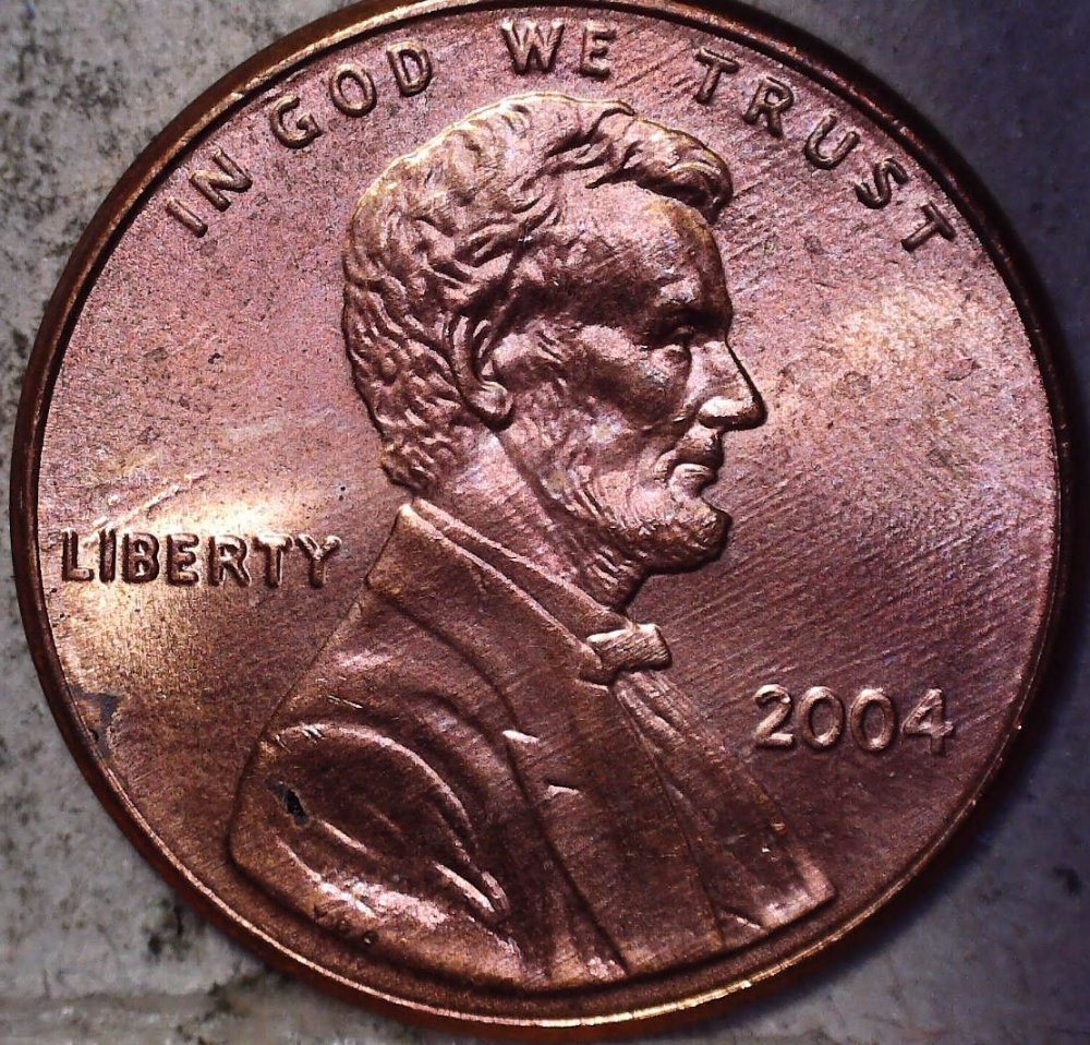 2004 Lincoln Memorial Cent / LMC with nice notching in