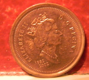 Unc 1952 2002 Canadian 1 Cent Penny No P Auction At Coin
