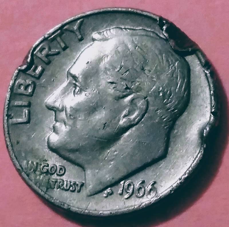 Roosevelt Dime 1966 errors - Coin Community Forum