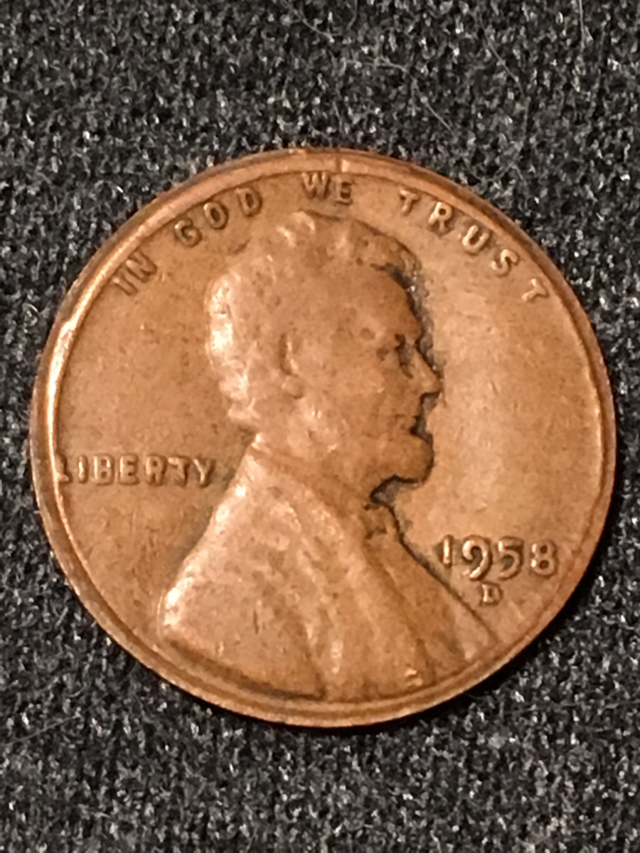 1958-D wheat Rim/Stike Error? - Coin Community Forum