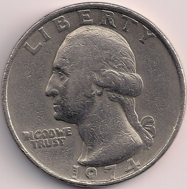 1974 Quarter - There's something different about this one