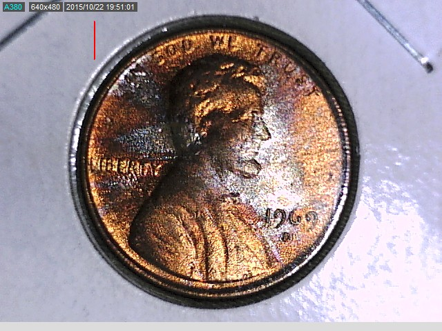 1969 D Cent With Silver Color Error Or Coin Community