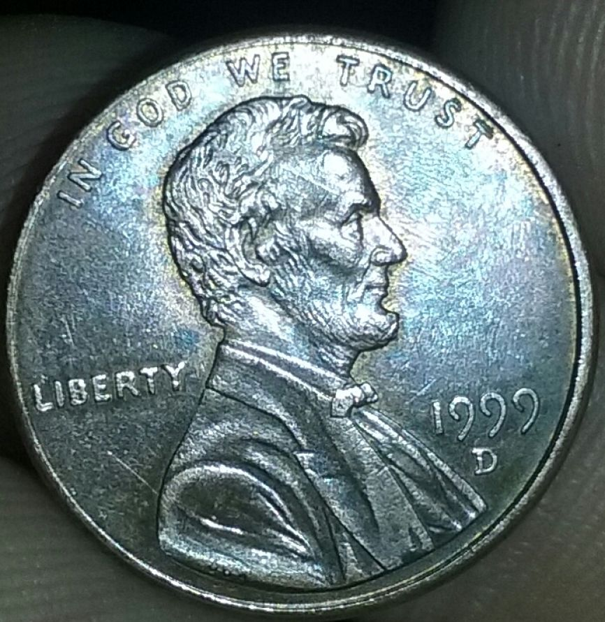 1999 d die chips penny - Coin Community Forum