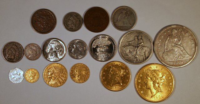 Picture Of A Almost Complete Denomination Set Of U S