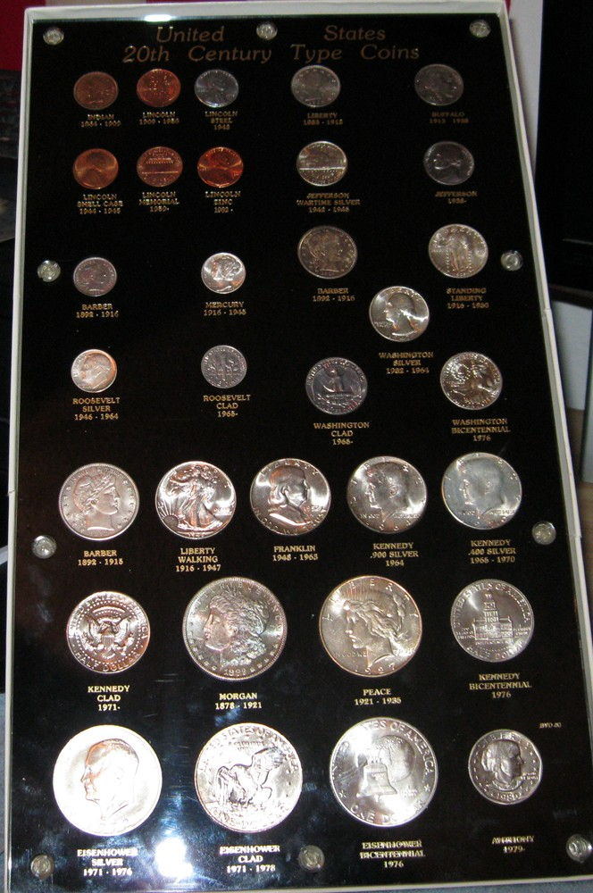 How Many Coins In Your 20th C Type Set Coin Community Forum