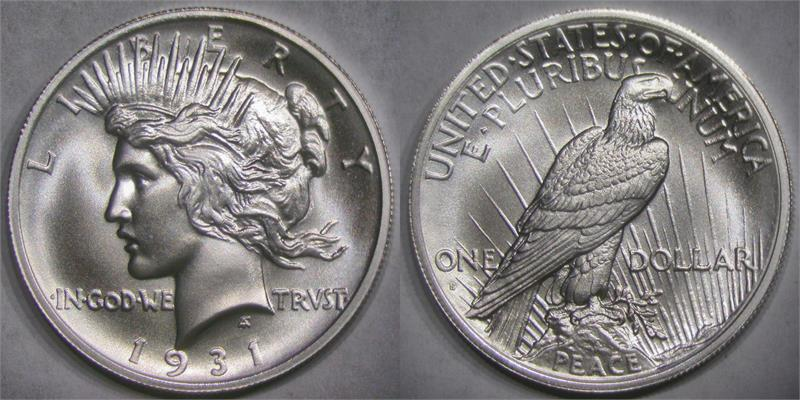 1931S Peace Dollar I'm going to have to get - Coin Community Forum