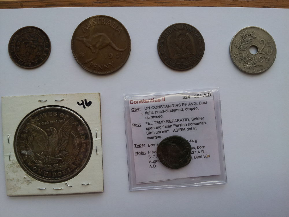 Flea market and antique store finds  - Coin Community Forum