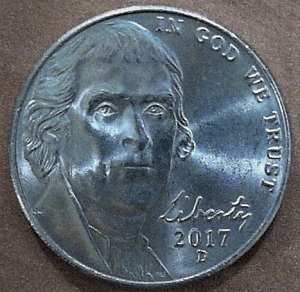 2017 D Jefferson Nickel with Definite Defference - Coin Community Forum