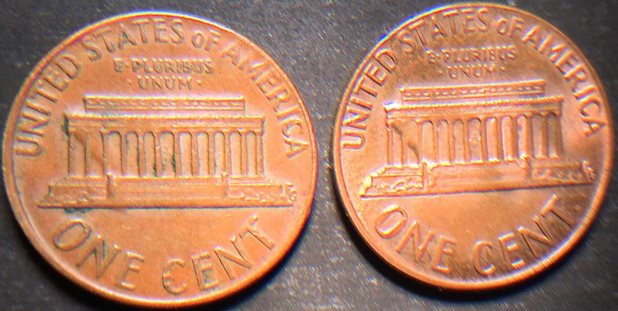 1973-D penny errors on reverse - Coin Community Forum