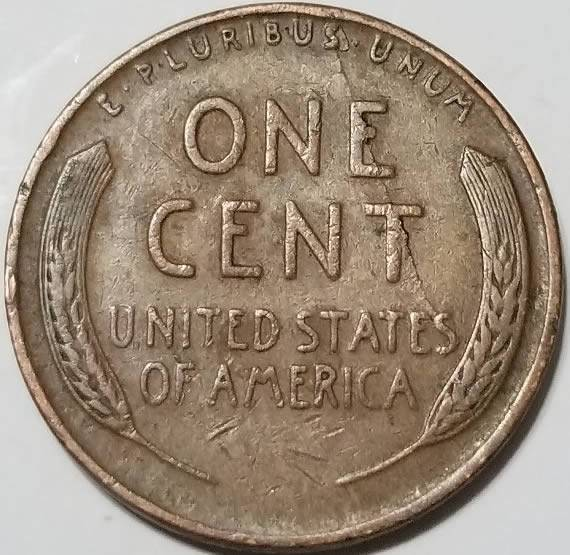 1944 wheat penny cracked die? - Coin Community Forum