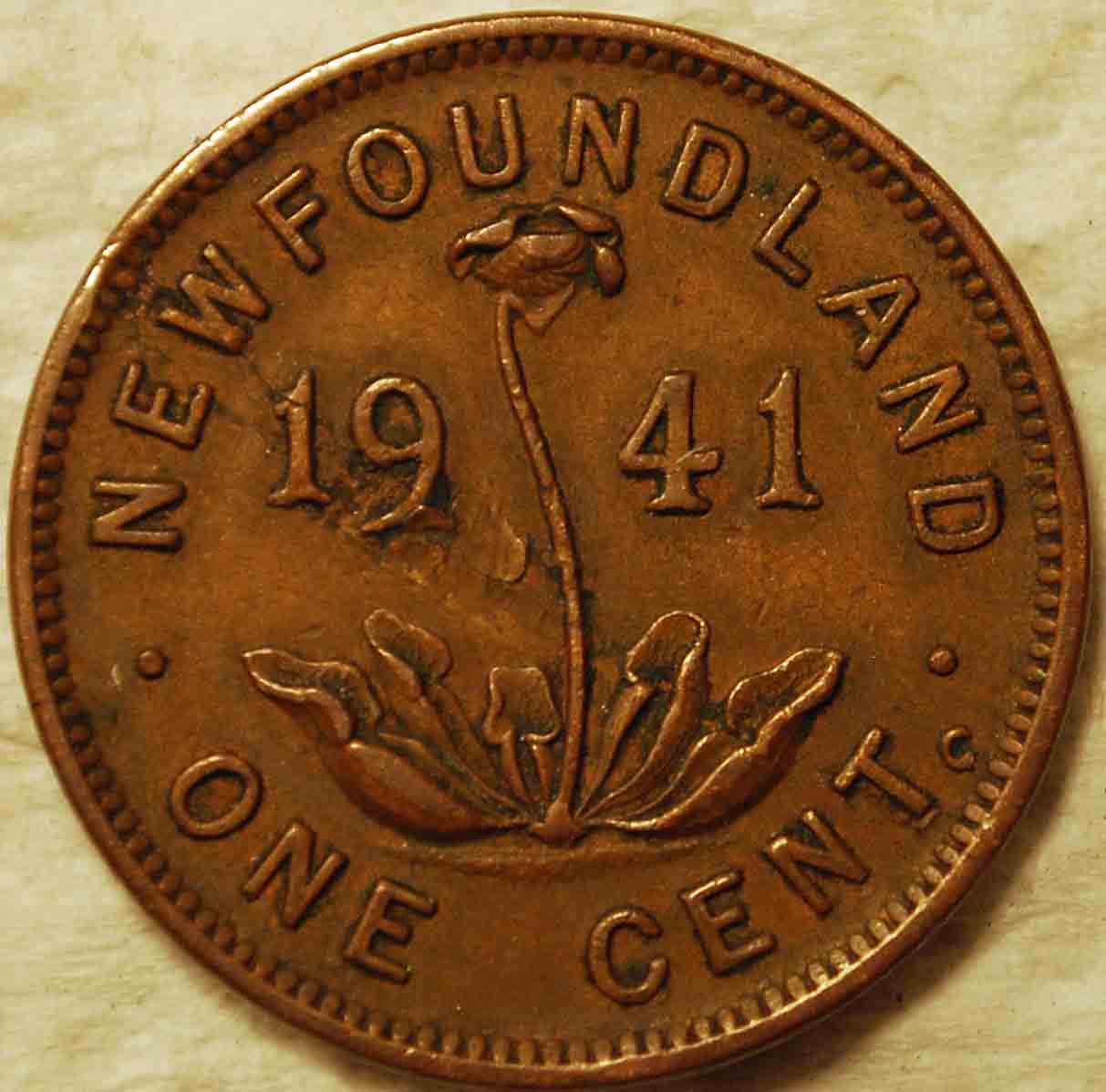 And Another 1941 Newfoundland 1 Cent Coin Community Forum