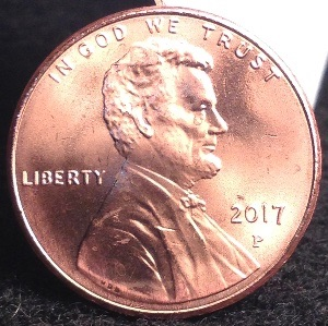 2017 Crying Lincoln Penny