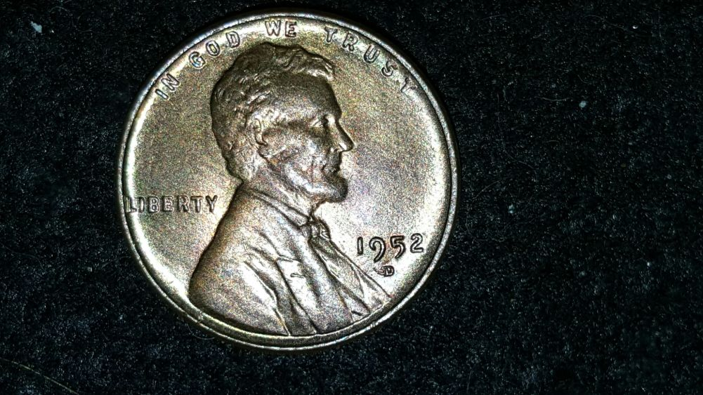 1952d Omm Lincoln Cent Coin Community Forum