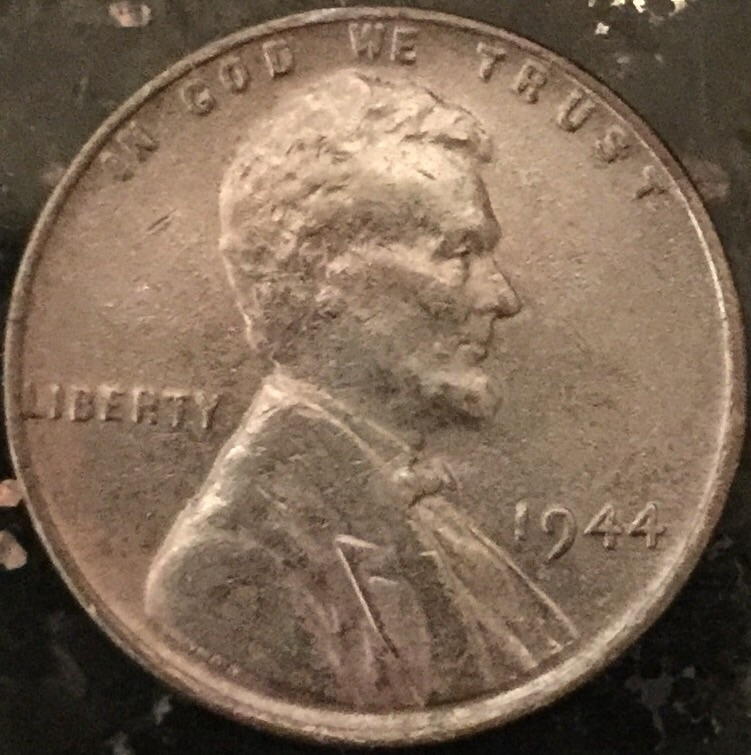 how to tell if a 1944 wheat penny is steel