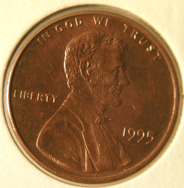 My 1995 Quot Scarface Quot Lincoln Error Penny Coin Community Forum
