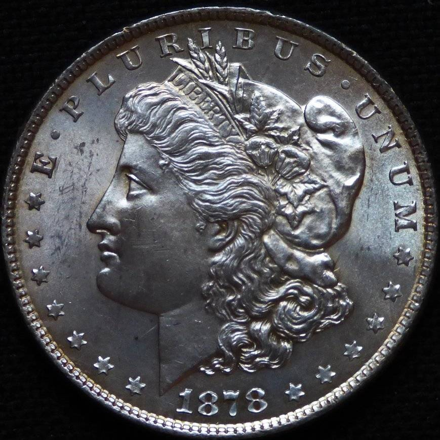 A Tale Of Six 1878 8 Tail Feather Morgan Dollars Sold At Ebay 2 Weeks Ago Coin Community Forum