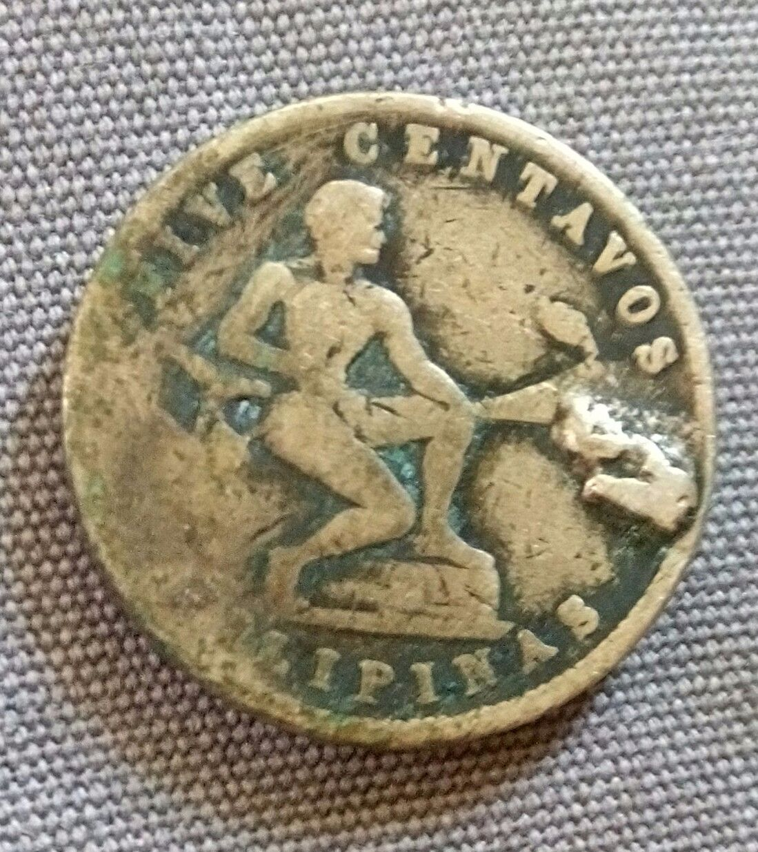 1944 S Five Centavo Coin Coin Community Forum