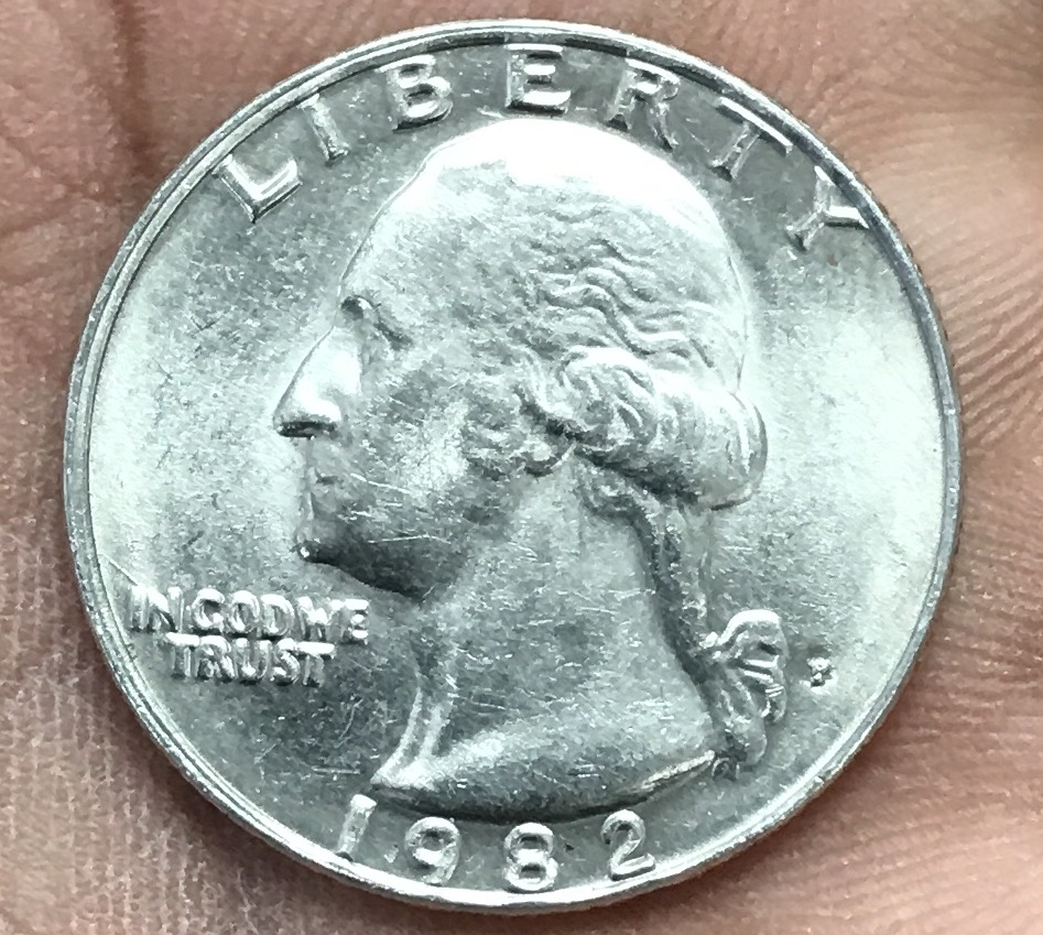 1982 p quarter Doubled Die Obverse / DDO maybe - Coin Community Forum