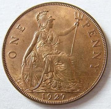 1927 George V Penny Unc Coin Community Forum