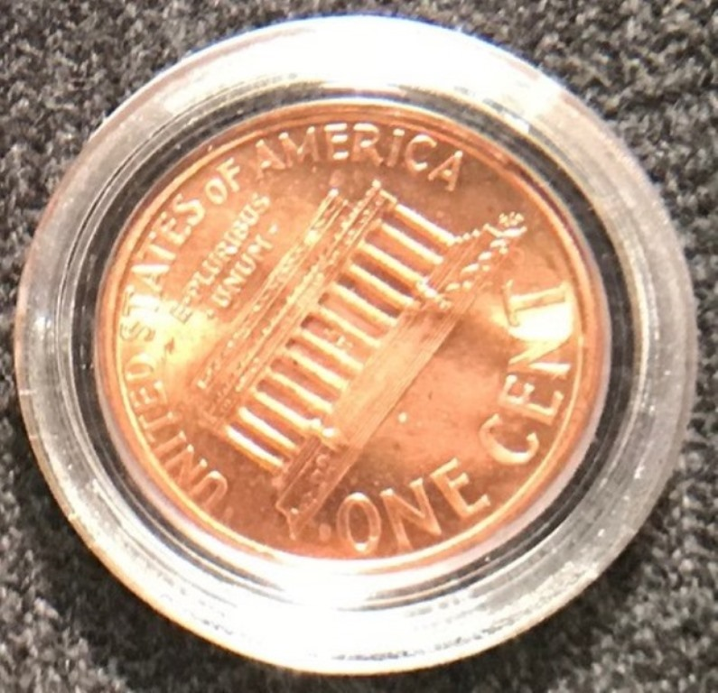 1995-D Lincoln Cent Close