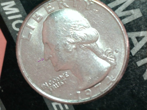 1974 D Doubled Die Obverse / DDO Quarter Discovery Coin - Coin