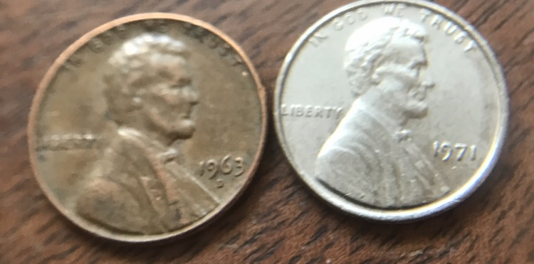 Any thoughts on this 1971 silver penny? - Coin Community Forum