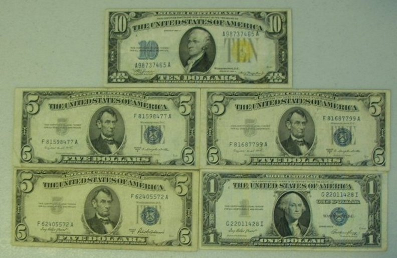 Silver Certificate Values Coin Community Forum