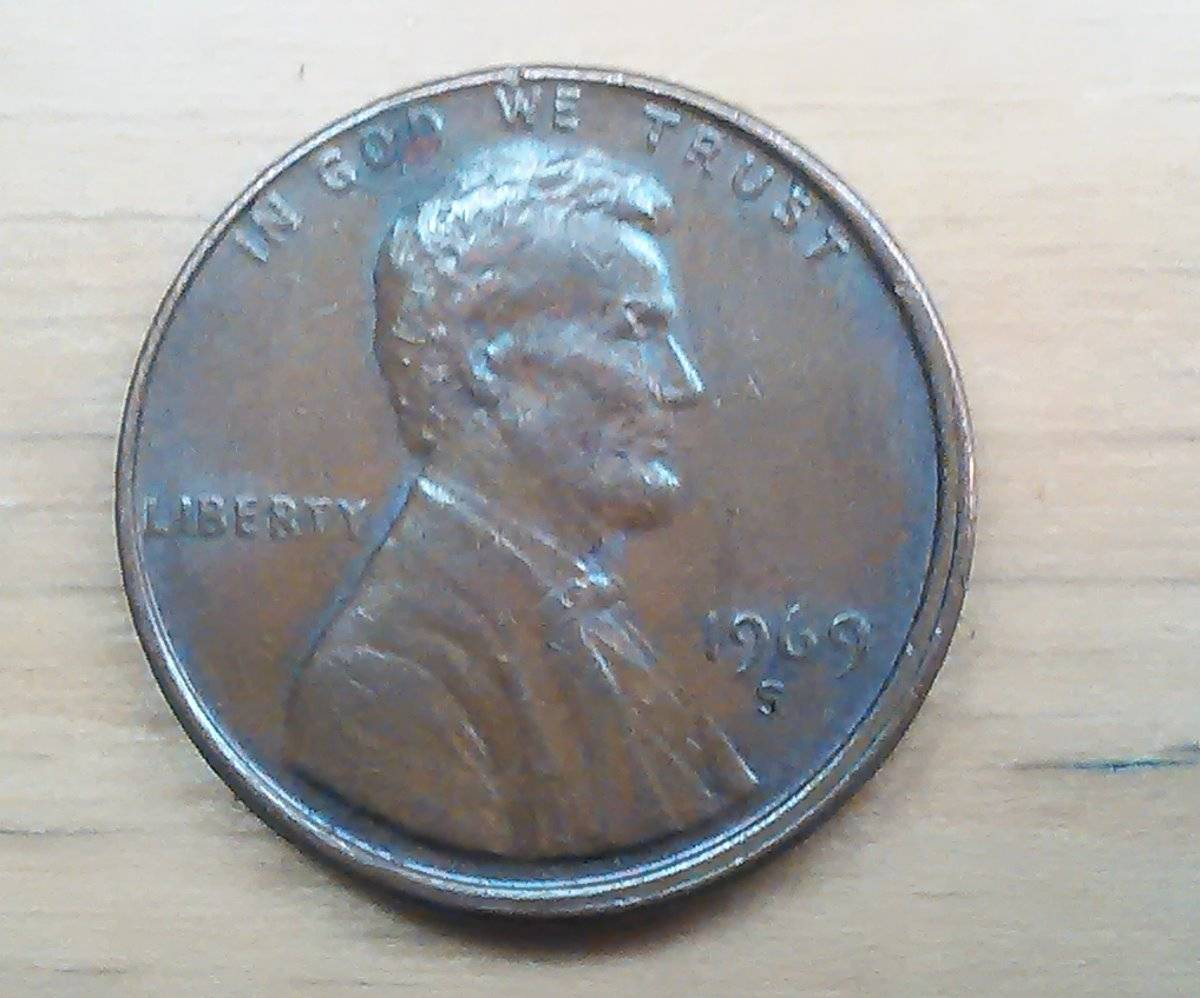1969s Penny looks like the is upside down - Coin Community Forum